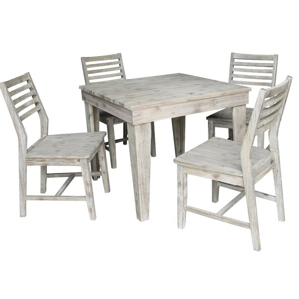 Recent Westfall Counter Height 5 Piece Pub Table Setgracie Oaks Herry Within Calla 5 Piece Dining Sets (View 16 of 20)