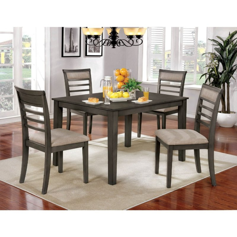 Featured Photo of Hanska Wooden 5 Piece Counter Height Dining Table Sets (Set Of 5)