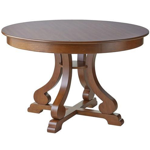Round Dining Table At Best Price In India Within Most Up To Date Amir 5 Piece Solid Wood Dining Sets (set Of 5) (View 14 of 20)