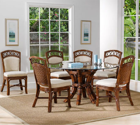 Saintcroix 3 Piece Dining Sets For Popular Indoor Rattan And Wicker Dining Collections (View 10 of 20)