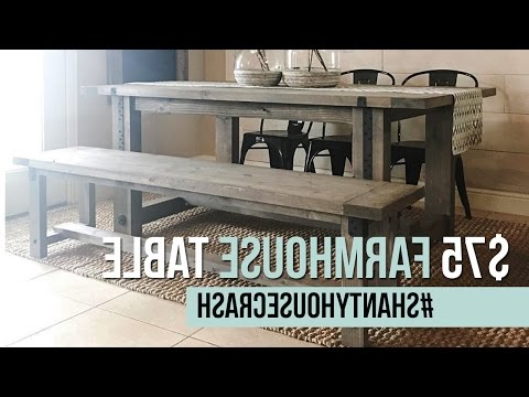 #shantyhousecrash – Youtube In Yedinak 5 Piece Solid Wood Dining Sets (View 2 of 20)