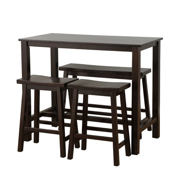 Sheetz 3 Piece Counter Height Dining Sets Throughout Best And Newest Bar Table Sets You'll Love (Gallery 13 of 20)