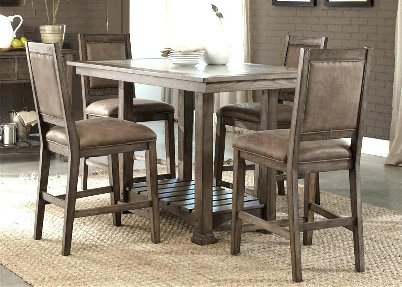 Sheetz 3 Piece Counter Height Dining Sets Within Latest Best Rustic Pub Table And Chairs – Legionsports.club (Gallery 20 of 20)