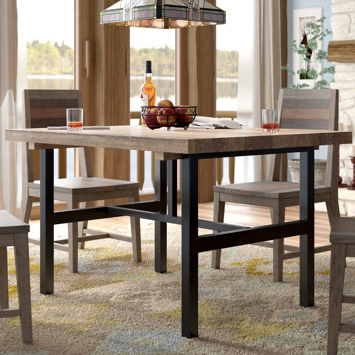 Solid Wood Dining Table (Gallery 14 of 20)