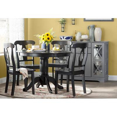 Tejeda 5 Piece Dining Sets With Regard To Well Liked Garlington 5 Piece Dining Set & Reviews (Gallery 13 of 20)