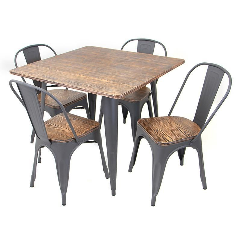 Telauges 5 Piece Dining Sets Regarding Well Liked Lumisource Ds Tw Or Sq Oregon Dining Set – 5 Piece In (View 18 of 20)