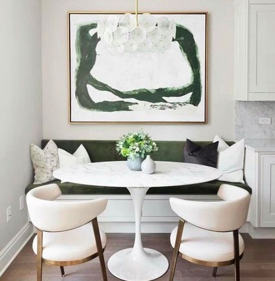 This Is Very Pretty But Maybe Too Pretty And Not Practical Enough For Current Maloney 3 Piece Breakfast Nook Dining Sets (View 13 of 20)