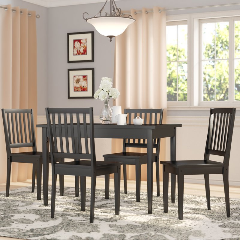 Three Posts Barryknoll 5 Piece Dining Set & Reviews (View 4 of 20)