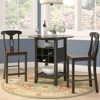 Thurman 5 Piece Pub Table Set & Reviews (View 12 of 20)