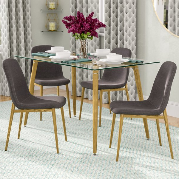 Tony 5 Piece Counter Height Dining Seta&j Homes Studio Wonderful Regarding Trendy Giles 3 Piece Dining Sets (View 6 of 20)
