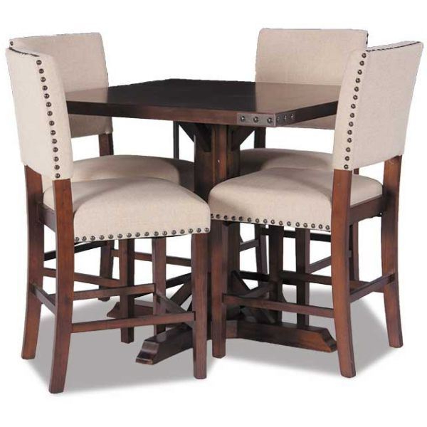 Trendy 5 Piece Dining Sets With Regard To Modesto 5 Piece Dining Set Mdt432 5pc Office Star Mdt432 Aes/424 Aes (View 13 of 20)