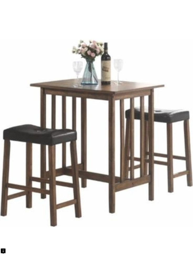 Trendy Learn About Bar Height Table And Chairs Check The Webpage For More Throughout Rossiter 3 Piece Dining Sets (View 19 of 20)
