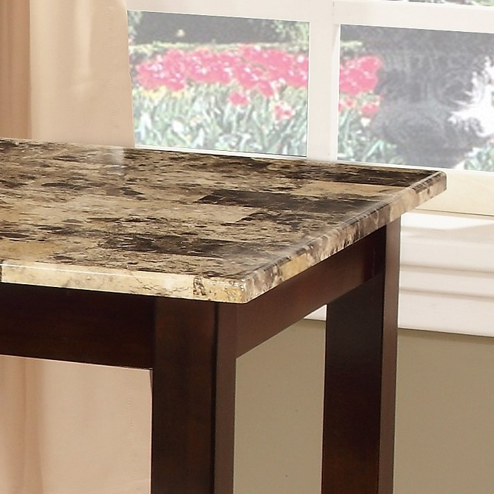 Trendy Penelope 3 Piece Counter Height Wood Dining Sets For Winston Porter Penelope 3 Piece Counter Height Wood Dining Set (View 17 of 20)