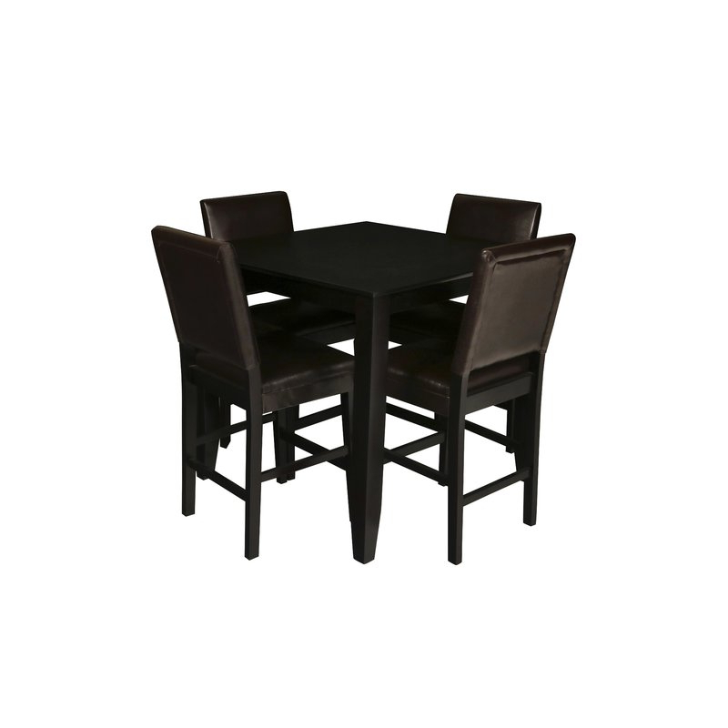 Trendy Tavarez 5 Piece Dining Sets With August Grove Isai 5 Piece Counter Height Dining Table Set (View 14 of 20)
