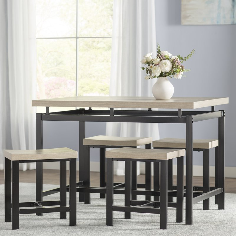 Featured Photo of Bryson 5 Piece Dining Sets