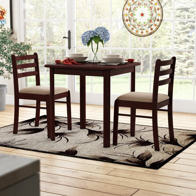 Wayfair For Kinsler 3 Piece Bistro Sets (View 18 of 20)