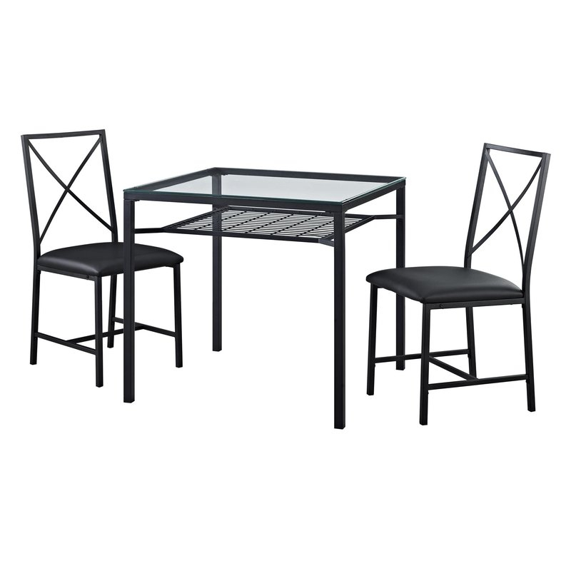 Wayfair For Most Popular Isolde 3 Piece Dining Sets (View 7 of 20)