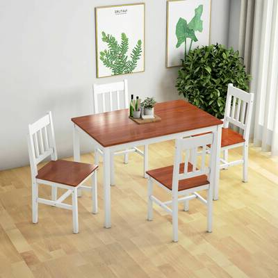 Wayfair For Most Recent Sundberg 5 Piece Solid Wood Dining Sets (View 7 of 20)
