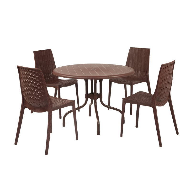 Wayfair For Preferred Miskell 5 Piece Dining Sets (Gallery 4 of 20)