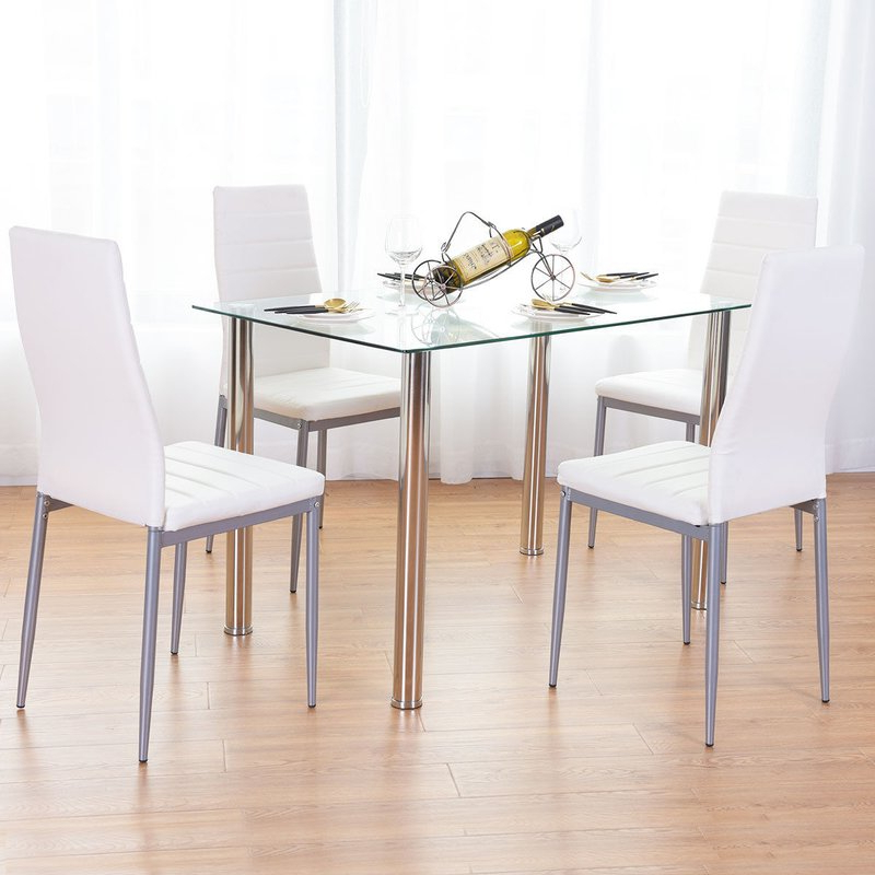Wayfair In 2020 Travon 5 Piece Dining Sets (Gallery 3 of 20)