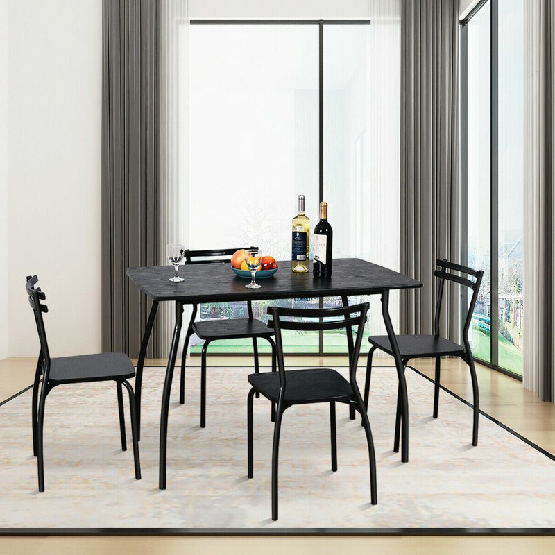 Wayfair Intended For Jarrod 5 Piece Dining Sets (View 11 of 20)