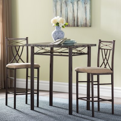 Wayfair Pertaining To Cincinnati 3 Piece Dining Sets (Gallery 2 of 20)