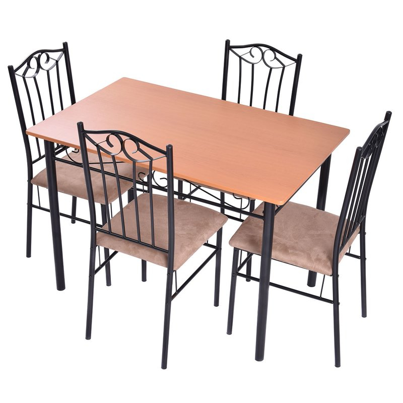 Wayfair Regarding Rossi 5 Piece Dining Sets (View 19 of 20)