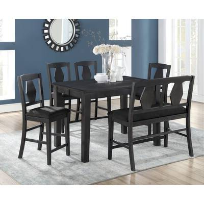 Wayfair Throughout Osterman 6 Piece Extendable Dining Sets (set Of 6) (View 7 of 20)