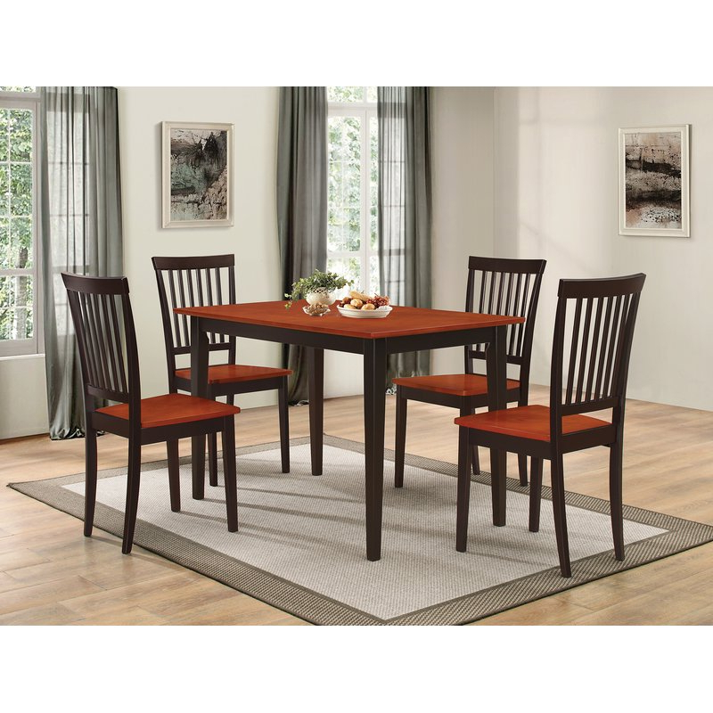 Wayfair Throughout Pattonsburg 5 Piece Dining Sets (Gallery 1 of 20)