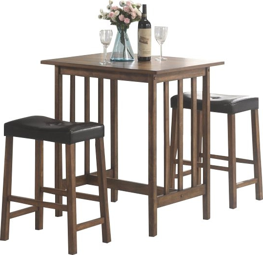 Wayfair With Most Up To Date Hood Canal 3 Piece Dining Sets (View 2 of 20)