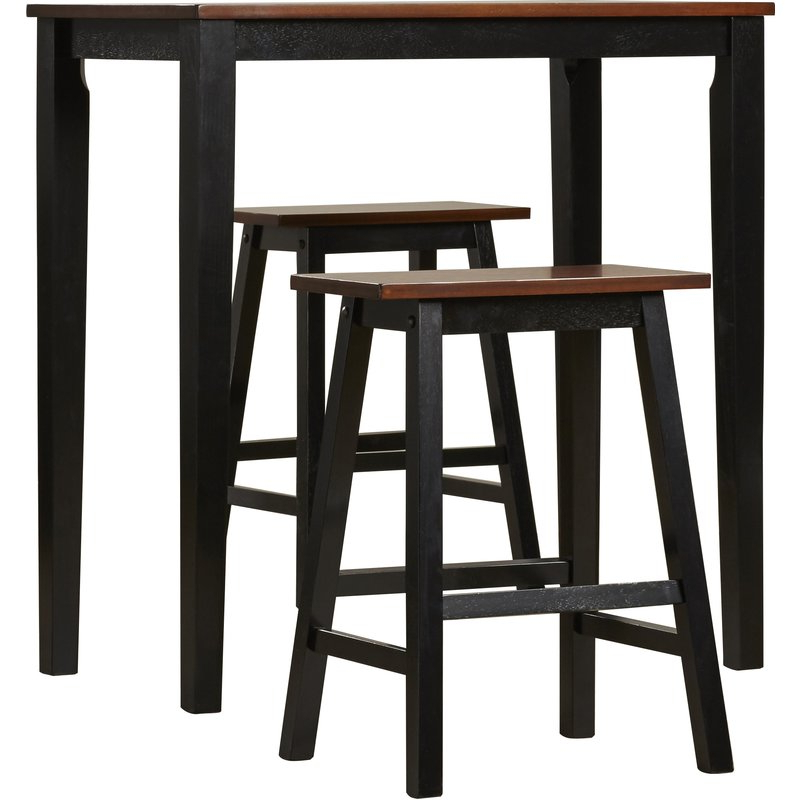 Wayfair With Ryker 3 Piece Dining Sets (View 8 of 20)