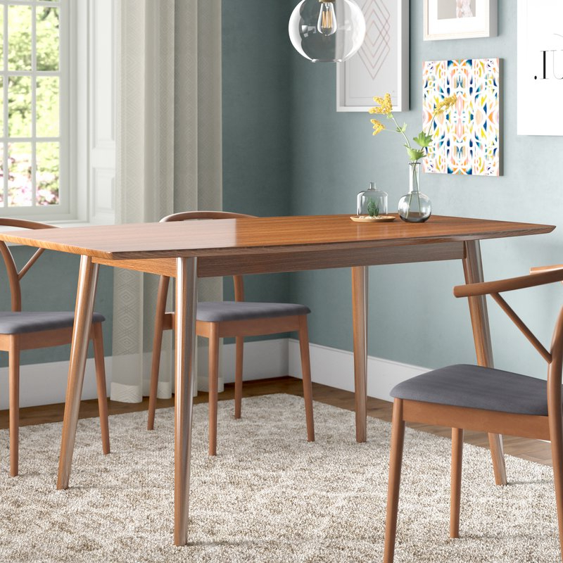 Wayfair Within Amir 5 Piece Solid Wood Dining Sets (set Of 5) (View 4 of 20)