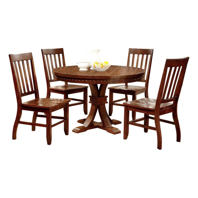 Wayfair Within Jarrod 5 Piece Dining Sets (View 18 of 20)