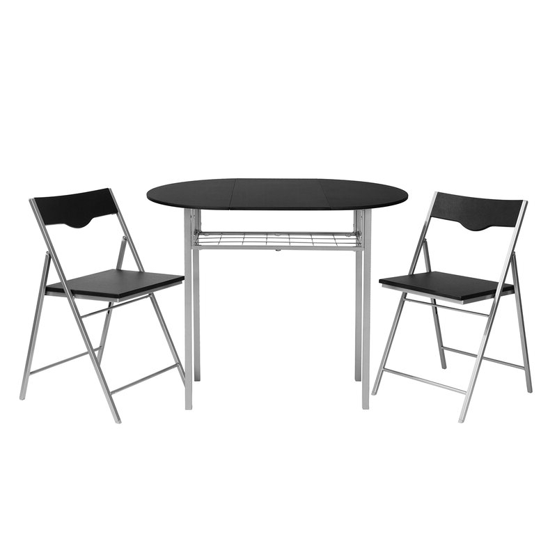 Wayfair Within Trendy Honoria 3 Piece Dining Sets (Gallery 2 of 20)