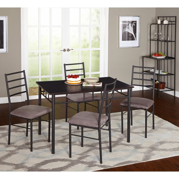 Well Known Anette 3 Piece Counter Height Dining Sets Inside Anette 3 Piece Counter Height Dining Setcharlton Home 2019 Sale (View 19 of 20)