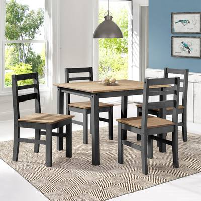 Well Known Castellanos Modern 5 Piece Counter Height Dining Sets With Regard To Union Rustic Castellanos Modern 5 Piece Counter Height Dining Set (View 12 of 20)
