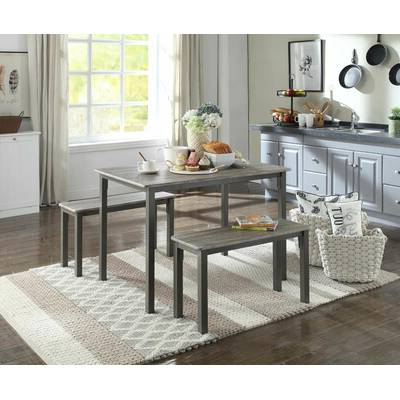 Well Known Chelmsford 3 Piece Dining Sets With Wrought Studio Chelmsford 3 Piece Dining Set & Reviews (View 18 of 20)