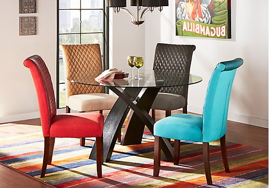 Featured Photo of Delmar 5 Piece Dining Sets