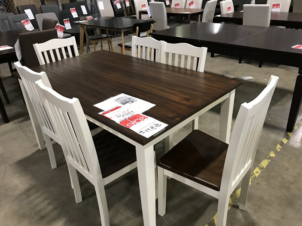 Well Known Discount Furniture Winnipeg In Kaya 3 Piece Dining Sets (View 18 of 20)