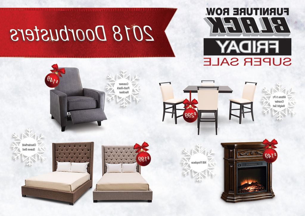 Well Known Enjoy 2018 Black Friday Savings At Furniture Row – The Front Door Inside Conover 5 Piece Dining Sets (Gallery 19 of 20)