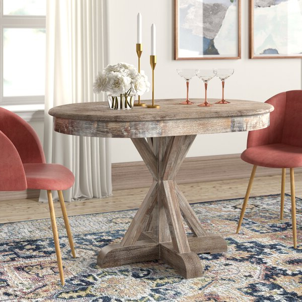 Well Known Maryanne Oval Dining Table Inside Linette 5 Piece Dining Table Sets (View 17 of 20)