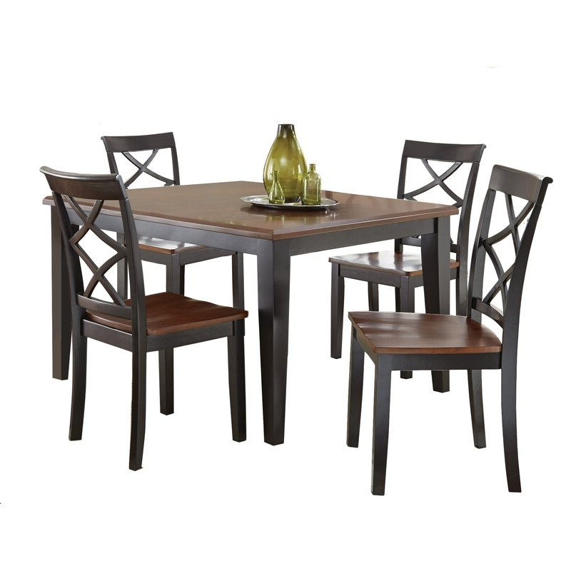 Featured Photo of Aria 5 Piece Dining Sets