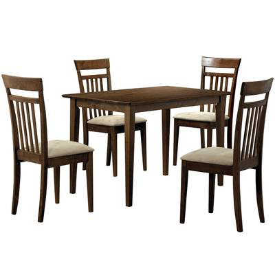 Well Liked Wholesale Interiors Baxton Studio Keitaro 5 Piece Dining Set Intended For Baxton Studio Keitaro 5 Piece Dining Sets (View 10 of 20)