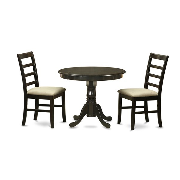 West Hill Family Table 3 Piece Dining Sets In Most Popular 3 Piece Dining Seteast West Furniture Top Reviews On (View 10 of 20)