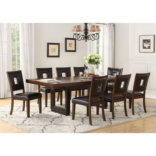 West Hill Family Table 3 Piece Dining Sets With Recent Dining Room Sets, Tables & Chairs : Dining Room Furniture Sets (View 17 of 20)
