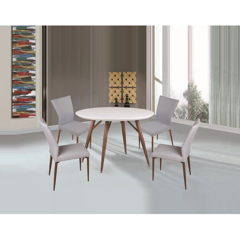 Widely Used Liles 5 Piece Breakfast Nook Dining Sets With Regard To Corrigan Studio Brandyn 5 Piece Breakfast Nook Dining Set (View 20 of 20)