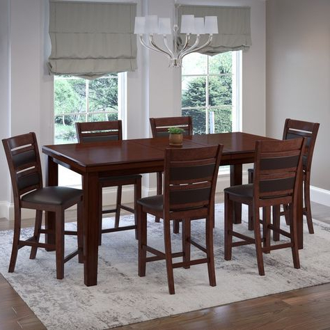 Widely Used Pratiksha Sonoma 5 Piece Dining Sets Inside Carriage Hill 7 Piece Extendable Dining Set (View 7 of 20)