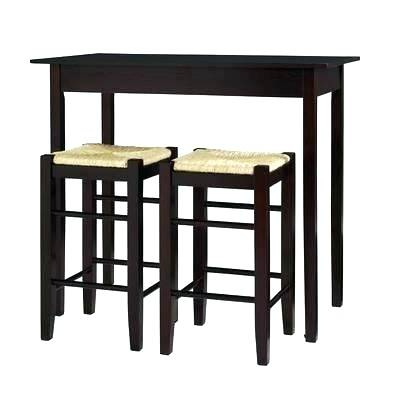 Winsome 3 Piece Counter Height Dining Sets In Favorite 3 Piece Counter Height Table Set Winsome Lynnwood 3 Piece Dining Set (View 8 of 20)