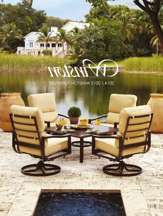 Winsted 4 Piece Counter Height Dining Sets Within Newest 2014 / 2015 Winston Furniture Catalogwinston Furniture – Issuu (View 19 of 20)