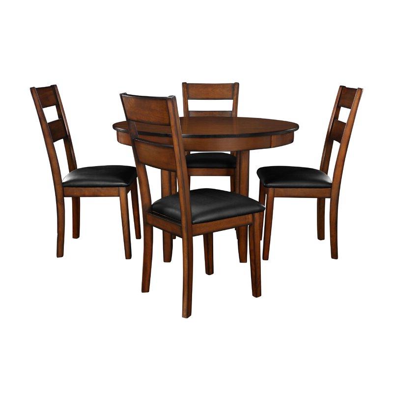 Winston Porter Juno 5 Piece Dining Set & Reviews (View 2 of 20)